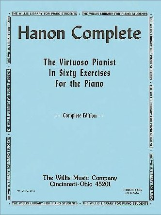 Older Hanon Complete Cover Photo
